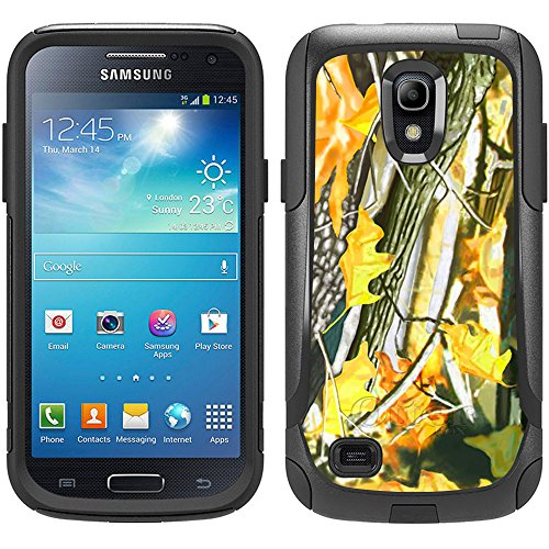Skin Decal for Otterbox Commuter Samsung Galaxy S4 Mini Case - Hunter Green Leafs Design (Samsung Galaxy S4 Mini Decal compare prices)