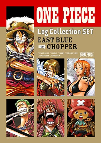 """ONE PIECE Log Collection SET """"EAST BLUE to CHOPPER"""" [DVD]"""