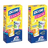 Dixie Bathroom Cups, 3 oz 200 ea, Assorted designs - 2 Pack (400 Total)