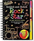 img - for Rock Star Scratch & Sketch (An Art Activity Book for Rock 'n' Rollers for all Ages) book / textbook / text book