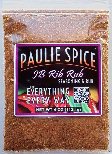 Paulie Spice : Sweet And Smoky BBQ Rub And Seasoning : Amazing On Ribs, Chicken, Pork And Kabob : 4Oz
