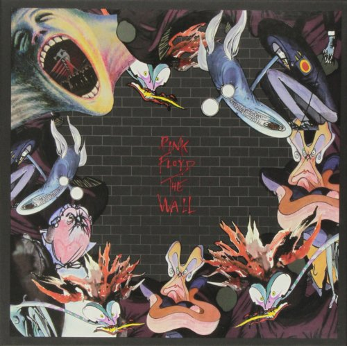 Original album cover of Wall by Pink Floyd
