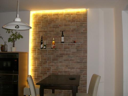 pin steinwand mit beleuchtung das ist doch gemuetlich oder bigjpg on pinterest. Black Bedroom Furniture Sets. Home Design Ideas