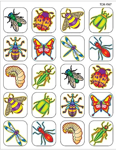Teacher Created Resources Insects Stickers, Multi Color (4167)