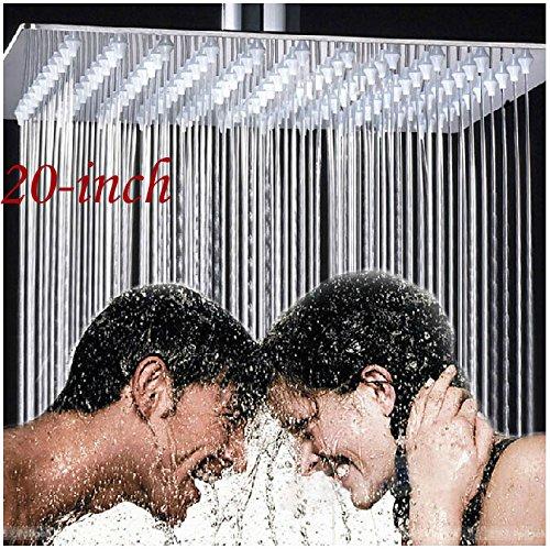 Bathroom-20-Inches-Rain-Shower-Head-Chrome-Brass-Ultrathin-Shower-Top-Sprayer-Ceiling-Mounted-by-Rozinsanitary
