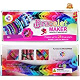 Arts and Crafts For Girls - Best Birthday Gifts/Toys For Girls/Boys Above 6 Year Old - Premium Bracelet(Jewelry) Making Kit aka Friendship Bracelet Maker/Craft Kits With Loom, Rubber Bands, Clips & Manual Included - Arts/Crafts Bracelets Kit/Toy by Mazichands