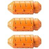 JerkStopper Extension Lock - Orange 3 Pack