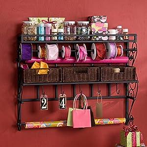 large wall mount arts and crafts storage. Black Bedroom Furniture Sets. Home Design Ideas