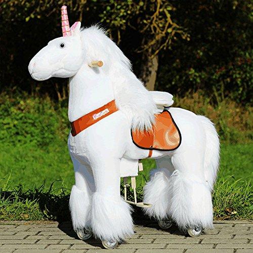 Ponycycle-Etoile-filante-Licorne-Pony-sur-rouleau-vagabondage-Cheval--bascule-et-Animal-en-peluche-pour-votre-Enfant-de-MyPony-Medium