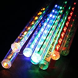 Raindrop RGB Sticks - Create artificial Raindrop - 8 Sticks 12 inches each. FESTIVE Decoration