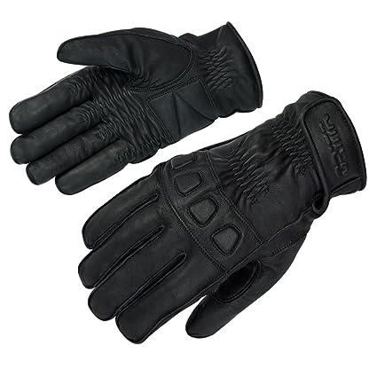 Gants en cuir orina gants de moto d'été courts knöchelpolster taille s-xL