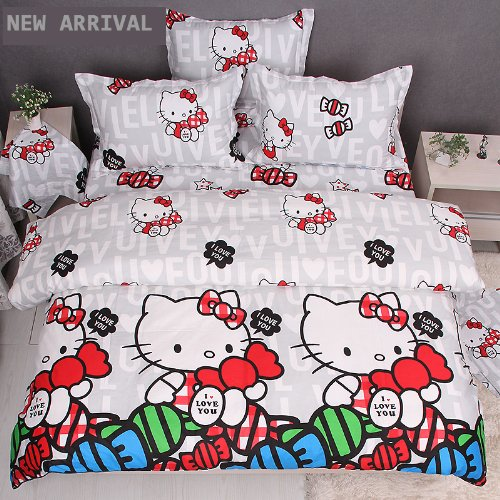 Queen Size Hello Kitty Sheets