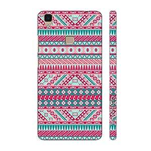 Enthopia Designer Hardshell Case Aztec Thirteen Back Cover for Vivo V3