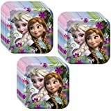 Disney Frozen Party Lunch/Dinner Plates - 24 Guests