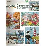 Lovely seasons in long stitch: Plastic canvas ~ Conn Baker Gibney