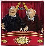 Muppet Show Statler and Waldorf Rare Collector's Item Dolls 32 cm / 28 cm (Manufacturer Henson / Igel)