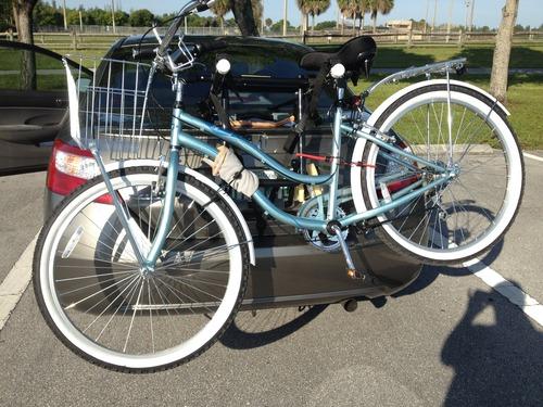 Allen Sports Deluxe 2 Bike Trunk Mount Rack Amazon Com