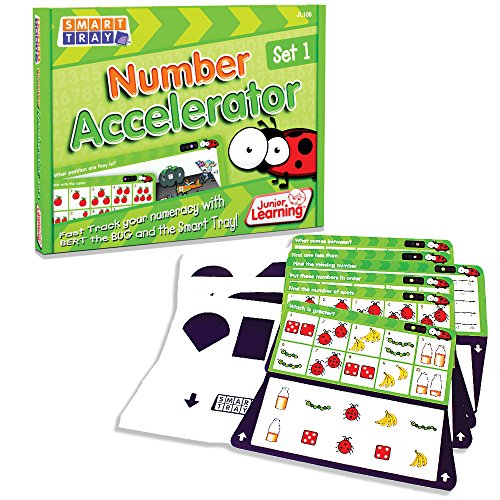 Junior Learning Smart Tray Number 1 Accelerator Set (Smart Tray compare prices)
