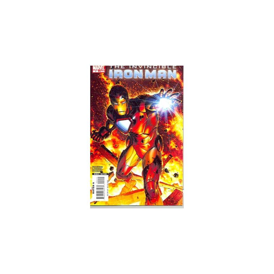 Invincible Iron Man # 2 comic (2008)