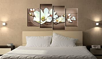 0 0impression sur toile 160x86 cm cm 4 parties image sur toile images photo. Black Bedroom Furniture Sets. Home Design Ideas