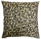 Van Ness Studio Expressionist Decorative Throw Pillow, Stone