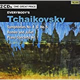 Tchaikovsky: Symphonies, No. 4 & 5, Romeo And Juliet, Piano Concerto N [2 CD]