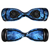 Mightyskins Skin for Swagtron T5, Blue Mystic Flames, 0.01 Pound (Color: Blue Mystic Flames, Tamaño: Swagtron T5)