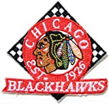 NHL CHICAGO BLACKHAWKS Hockey Jersey Logo Jacket T-shirt Patch Sew Iron on Embroidered Badge Sign at Amazon.com