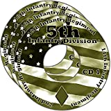 img - for 5th Infantry Division WW2 RESEARCH CD OF BOOKS, INFO, FILES, REPORTS, NARRATIVES, HISTORY 3CDs book / textbook / text book