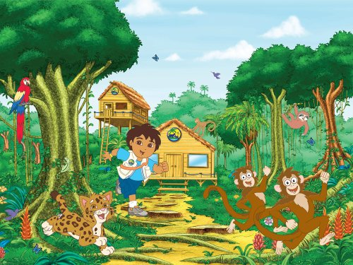 Brewster 147-71174 Nickelodeon Go Diego Wall Mural