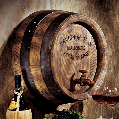 Design Toscano French Wine Barrel Wall Sculpture (Wine Barrel Wall Decor compare prices)