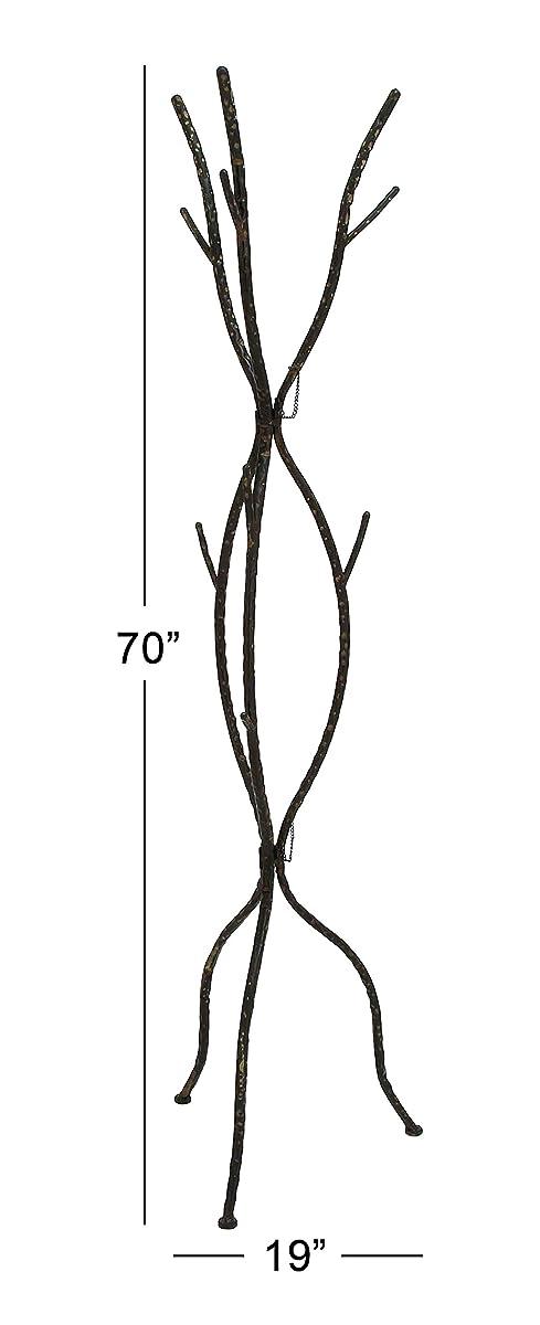 Deco 79 Metal Coat Rack, 19 by 70-Inch