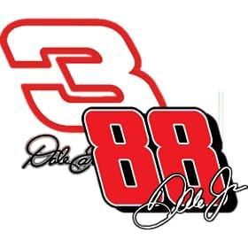 Dale Earnhardt Jr & Sr Clock Widget by teej