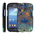 (Endless Blue) Design Shell Cover Case for Samsung Galaxy S III (S3) Mini by ManiaGear