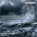 echange, troc Felix Mendelssohn-Bartholdy, Markiz - Complete String Symphonies