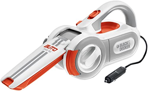 Roll over image to zoom in      Black & Decker PAV1200W 12-Volt Cyclonic-Action Automotive Pivoting-Nose Handheld Vacuum Cleaner