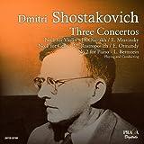 ショスタコーヴィチ: チェロ協奏曲第1番、ピアノ協奏曲第2番、ヴァイオリン協奏曲第1番 (Dmitri Shostakovich : Three Concertos - No.1 for Violin / No.1 for Cello / No.2 for Piano) [SACD Hybrid] [輸入盤]