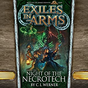 Night of the Necrotech Audiobook