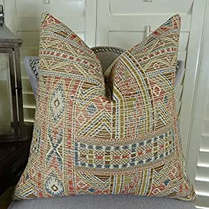 Amazon.com: Thomas Collection Handmade in USA Luxury Accent Pillow for Couch Sofa Bed, Made in ...