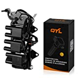 QYL Ignition Coil Pack Replacement for Hyundai Santa Fe Tiburon V6 2.7L 27301-37110 C1352 UF-357 UF-425