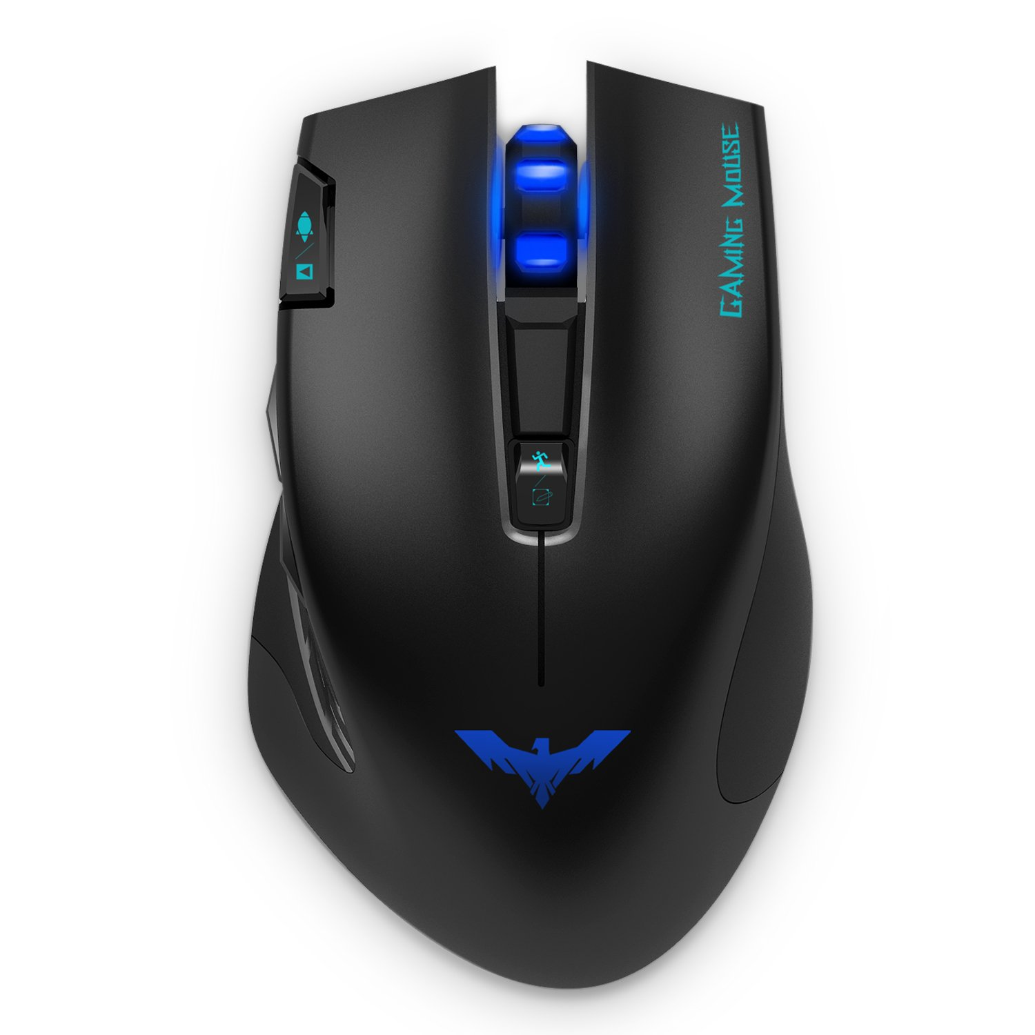 HAVIT® HV-MS978GT 2.4GHz Wireless Tunable Gaming Mouse for PC/Computer/Laptop