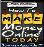 Money: How To Make Money Online Today: (How To Make Extra Money)