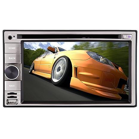 Pantalla tš¢ctil 6.2inch Doble 2 Din estšŠreo vw coches En la cubierta unidad principale tš¢ctil VCD Abajo del estšŠreo la radio coche DVD CD Video Player Motors de USB remoto coche Bluetooth SD Auto Man
