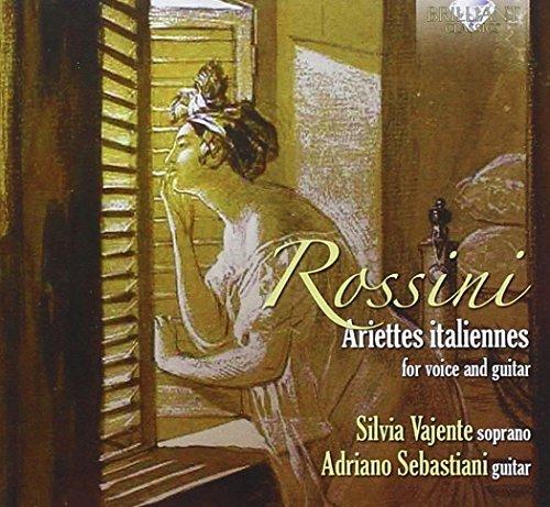 Rossini; Carulli: Ariettes Italiannes For Voice And Guitar by Silvia Vajente (2014-12-19)