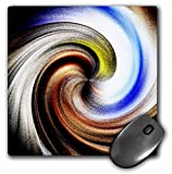 WhiteOaks Photography and Art - Design of Colors - Beautiful earth tone color swirl effect - Mouse Pads (mp_179660_1)