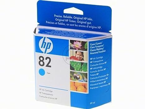 HP - Hewlett Packard DesignJet 800 PS 24 Inch (82 / C 4911 A) - original - Ink cartridge cyan - 69ml