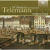 Telemann: 36 Fantasies For Hapsichord