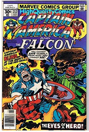 CAPTAIN AMERICA #212, FN, Jack Kirby, Red Skull, 1968, more CA in store (Captain America 212 compare prices)