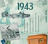 70. Geburtstag Geschenke – 1943 Chart Hits CD und 1943 Geburtstagskarte