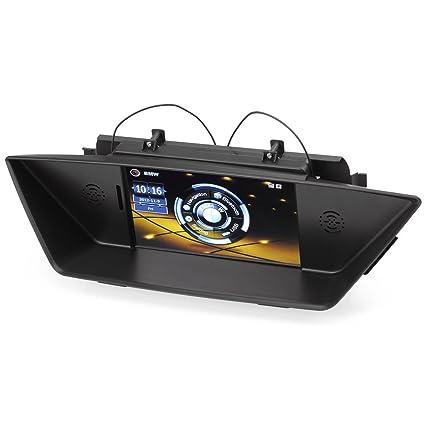 Rupse - autoradio DVD système de navigation multimédia pour 2009 - 2014 BMW X1 E84 - 7'' HD moniteur écran tactile et GPS Bluetooth USB - vous pouvez écouter de la musique ou radio et parcourir les photo pendant la navigation